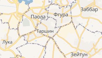 Таршин - детальная карта