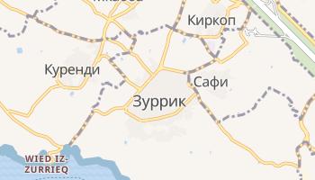 Зуррик - детальная карта