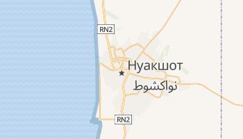 Нуакшот - детальная карта