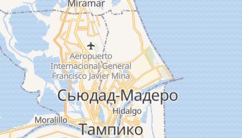 Сьюдад-Мадеро - детальная карта