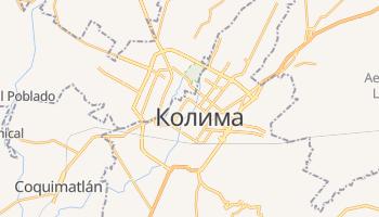 Колима - детальная карта