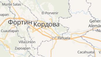 Кордова - детальная карта