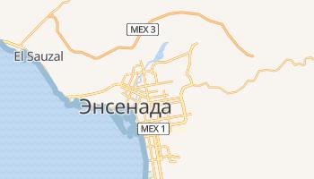 Энсенада - детальная карта
