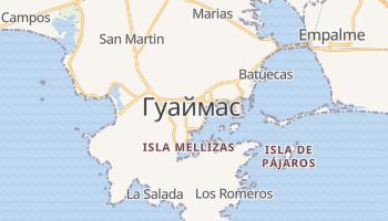 Гуаймас - детальная карта