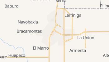 Уатабампо - детальная карта