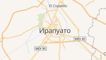 Ирапуато - детальная карта