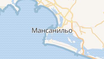 Мансанильо - детальная карта