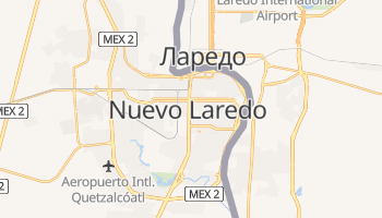 Нуэво-Ларедо - детальная карта
