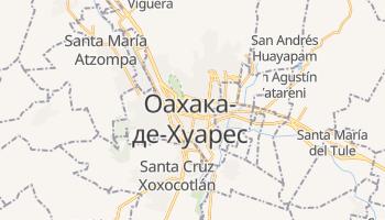 Оахака-де-Хуарес - детальная карта