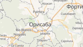 Орисаба - детальная карта