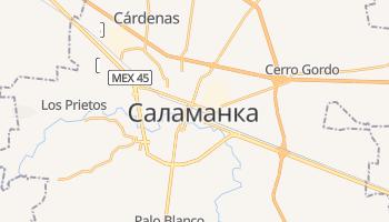 Саламанка - детальная карта