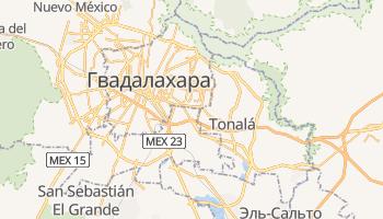 Тлакепаке - детальная карта
