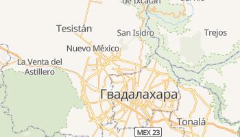 Сапопан - детальная карта