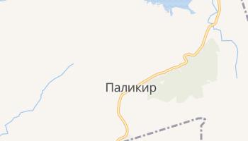 Паликир - детальная карта