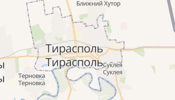 Тирасполь - детальная карта