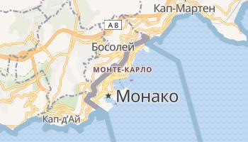 Монте-Карло - детальная карта