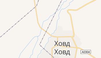 Кобдо - детальная карта