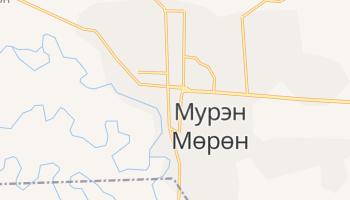 Мурэн - детальная карта