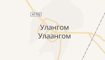 Улангом - детальная карта