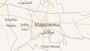 Марракеш - детальная карта