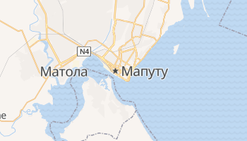 Мапуту - детальная карта