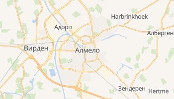 Альмело - детальная карта