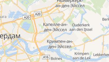 Капелле-ан-ден-Эйссел - детальная карта