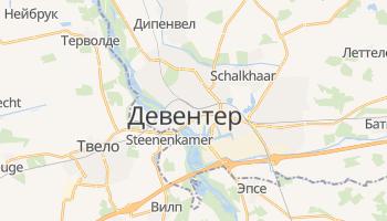 Девентер - детальная карта