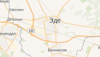 Эде - детальная карта