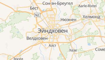 Эйндховен - детальная карта