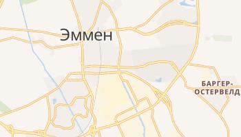 Эммен - детальная карта