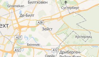 Зейст - детальная карта