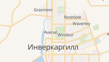 Инверкаргилл - детальная карта