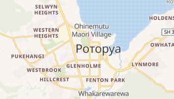 Роторуа - детальная карта