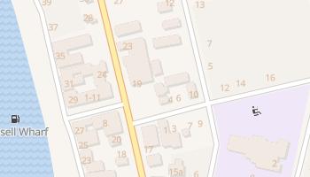 Рассел - детальная карта
