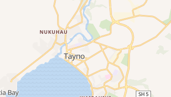 Таупо - детальная карта