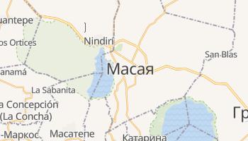 Масая - детальная карта