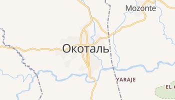 Окоталь - детальная карта