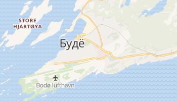 Бодо - детальная карта