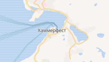 Хаммерфест - детальная карта