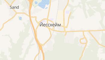 Йессхейм - детальная карта