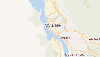 Мушёэн - детальная карта
