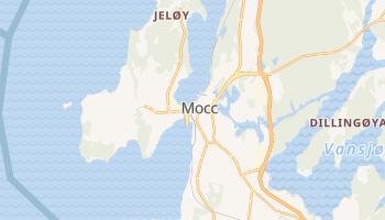 Мхи - детальная карта