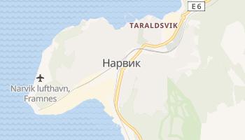 Нарвик - детальная карта