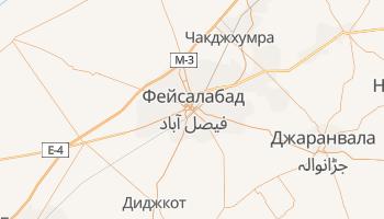 Фейсалабад - детальная карта