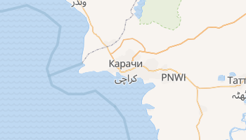 Карачи - детальная карта