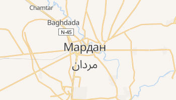 Мардан - детальная карта