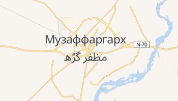 Музаффаргар - детальная карта