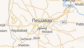 Пешавар - детальная карта