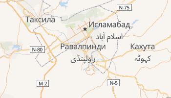 Равалпинди - детальная карта